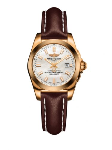 H7234812.A791.484X : Breitling Galactic 29 Rose Gold / Pearl / Calf