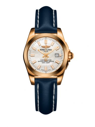 H7234812.A791.486X : Breitling Galactic 29 Rose Gold / Pearl / Calf
