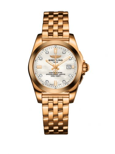 Breitling H7234812.A792.791H : Galactic 29 Rose Gold / Pearl Diamond / Bracelet