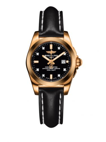 H7234812.BE86.477X : Breitling Galactic 29 Rose Gold / Trophy Black Diamond / Calf