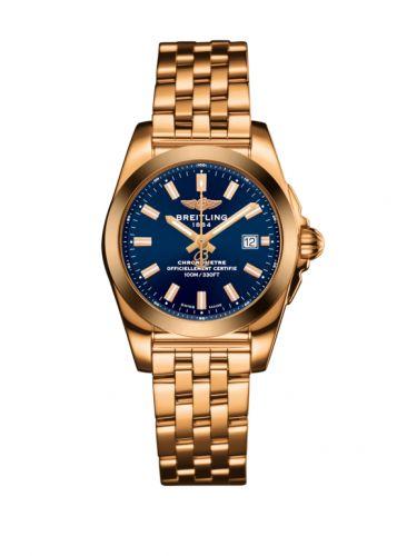 Breitling H7234812.C950.791H : Galactic 29 Rose Gold / Horizon Blue / Bracelet