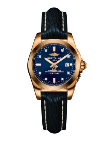 H7234812.C964.271X : Breitling Galactic 29 Rose Gold / Horizon Blue Diamond / Sahara
