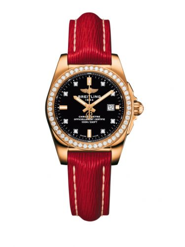 H7234853.BE86.273X : Breitling Galactic 29 Rose Gold / Diamond / Trophy Black Diamond / Sahara