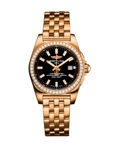 H7234853.BF32.791H : Breitling Galactic 29 Rose Gold / Diamond / Trophy Black / Bracelet