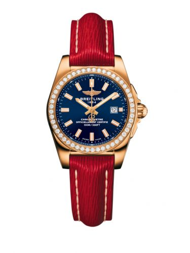H7234853.C950.273X : Breitling Galactic 29 Rose Gold / Diamond / Horizon Blue / Sahara