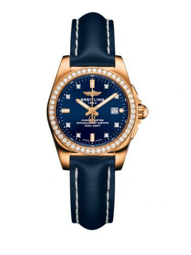H7234853.C964.486X : Breitling Galactic 29 Rose Gold / Diamond / Horizon Blue Diamond / Calf