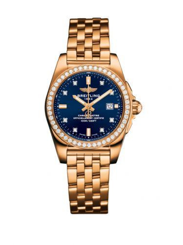 H7234853 C964 791H : Breitling Galactic 29 Rose Gold / Diamond / Horizon Blue Diamond / Bracelet