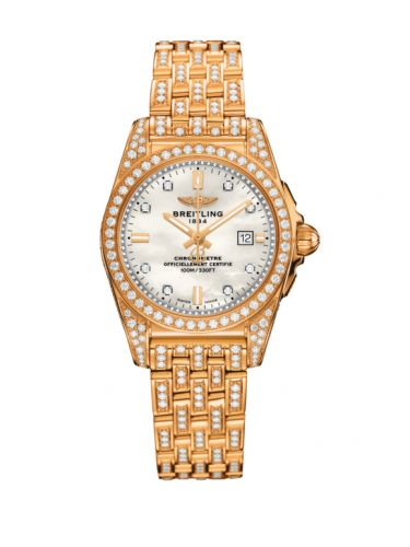 H7234863.A794.791T : Breitling Galactic 29 Rose Gold / Diamondworks / Pearl Diamond / Bracelet / Limited Edition