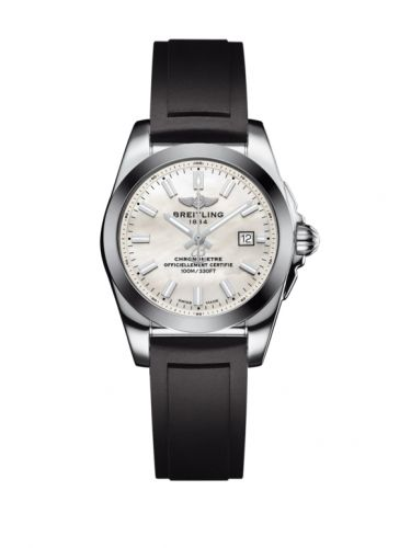 W7234812/A784/248S/A12S.1 : Breitling Galactic 29 Stainless Steel / Pearl / Rubber