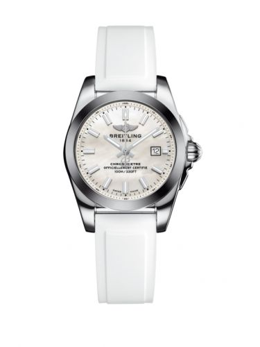 W7234812/A784/249S/A12S.1 : Breitling Galactic 29 Stainless Steel / Pearl / Rubber
