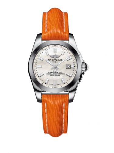 W7234812/A784/270X/A12BA.1 : Breitling Galactic 29 Stainless Steel / Pearl / Sahara