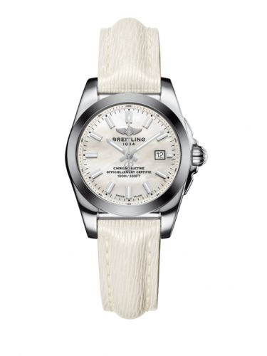 W7234812/A784/274X/A12BA.1 : Breitling Galactic 29 Stainless Steel / Pearl / Sahara