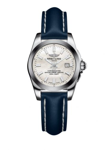 W7234812/A784/486X/A12BA.1 : Breitling Galactic 29 Stainless Steel / Pearl / Calf
