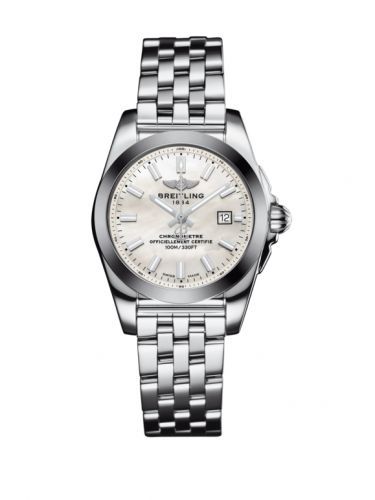 W72348121A1A1 : Breitling Galactic 29 Stainless Steel / Pearl / Bracelet