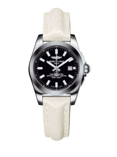 W7234812/BE49/274X/A12BA.1 : Breitling Galactic 29 Stainless Steel / Trophy Black / Sahara