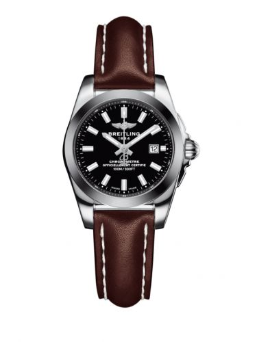 Breitling W7234812/BE49/484X/A12BA.1 : Galactic 29 Stainless Steel / Trophy Black / Calf