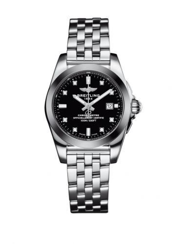 W72348121B1A1 : Breitling Galactic 29 Stainless Steel / Trophy Black Diamond / Bracelet
