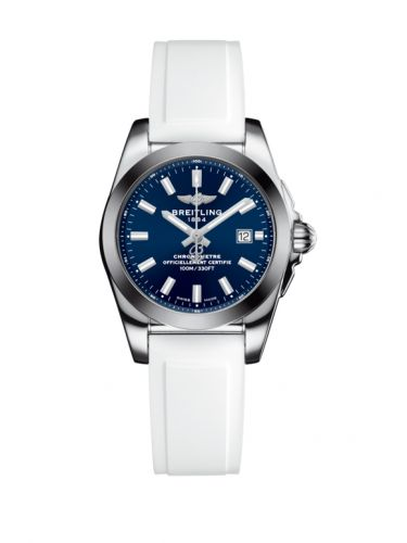 W7234812/C948/249S/A12S.1 : Breitling Galactic 29 Stainless Steel / Horizon Blue / Rubber