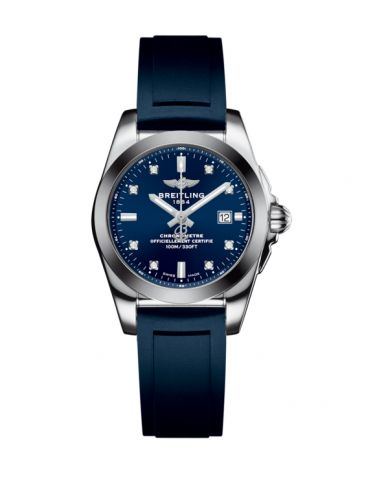 W7234812/C965/287S/A12S.1 : Breitling Galactic 29 Stainless Steel / Horizon Blue Diamond / Rubber