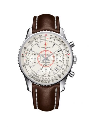 AB013012.G709.431X : Breitling Montbrillant 01 Stainless Steel / Mercury Silver / Calf