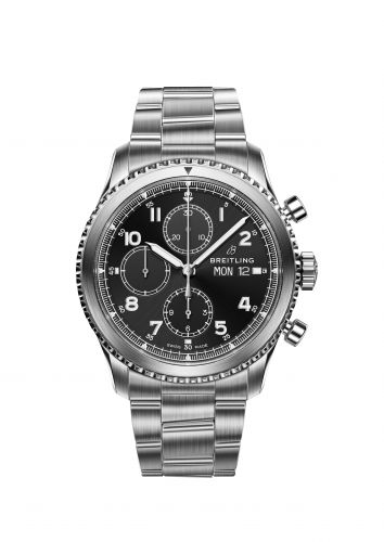 Breitling A1331410 : Navitimer 8 Chronograph 43 Stainless Steel Prototype
