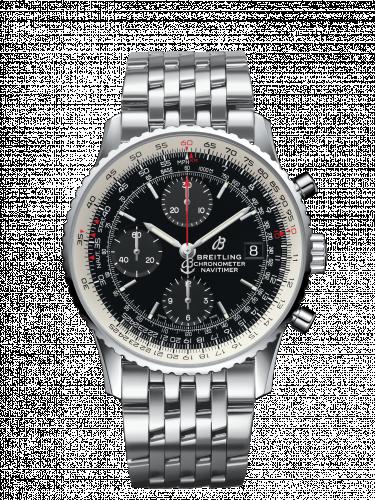 Breitling A13324121B1A1 : Navitimer 1 Chronograph 41 Stainless Steel / Black / Bracelet