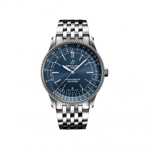 Breitling A17326161C1A1 : Navitimer Automatic 41 Automatic Stainless Steel / Blue / Bracelet