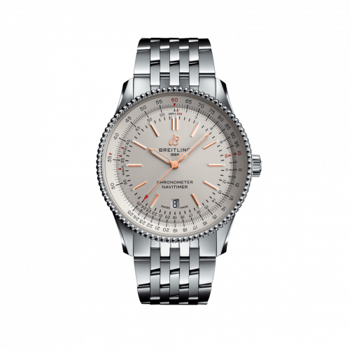 Breitling A17326211G1A1 : Navitimer Automatic 41 Automatic Stainless Steel / Silver / Bracelet
