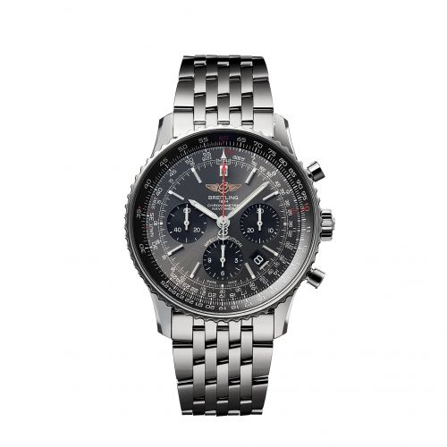 Breitling AB0121A21B1A1 : Navitimer 1 B01 Chronograph 43 Stainless Steel / Grey / Japan Special Edition