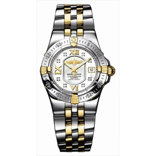 Breitling B7134012.A662 : Starliner 2008 Two Tone / MOP / Diamond