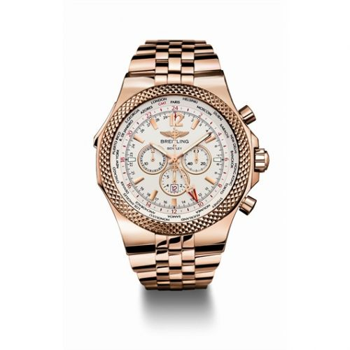 Breitling R4736212.G665 : Breitling for Bentley GMT Gold / Silver