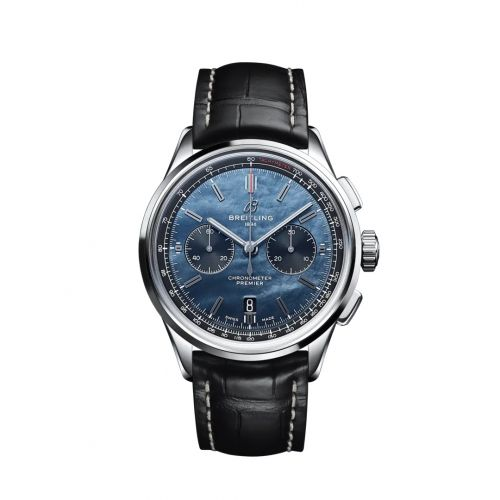 Breitling AB01183A1B1P1 : Premier B01 Chronograph 42 Stainless Steel / Japan Special Edition
