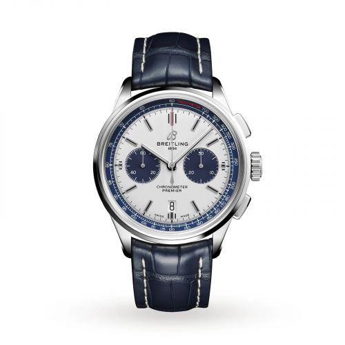 AB01186A1G1P1 : Breitling Premier B01 Chronograph 42 Watches of Switzerland