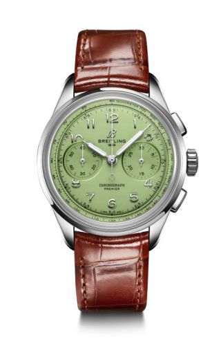 Breitling AB0930D31L1P1 : Premier Heritage B09 Chronograph 40 Stainless Steel / Mint