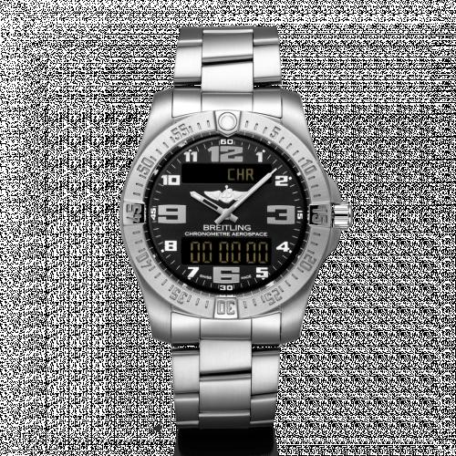 Breitling E79363101B1E1 : Aerospace Evo Titanium / Black / Bracelet