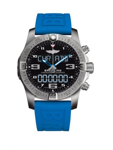 Breitling EB5510H21B1S1 : B55 Exospace Titanium / Black / TwinPro Blue / Folding