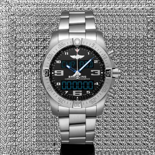 Breitling EB5510H21B1E1 : B55 Exospace Titanium / Black / Bracelet