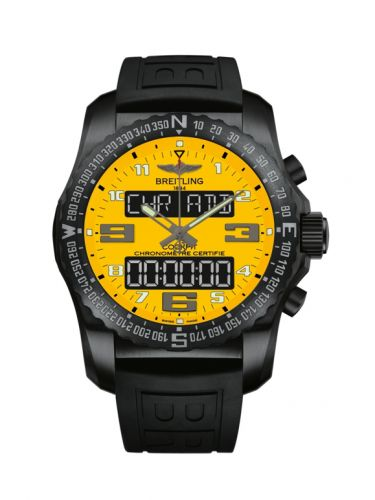 Breitling VB50105T/I525/155S/V20DSA.4 : Cockpit B50 Night Mission / Yellow / Rubber / Folding / Boutique Edition