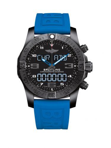 Breitling VB5510H21B1S1 : B55 Exospace Black Titanium / Black / TwinPro Blue