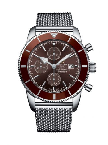 Breitling A13312331Q1A1 : Superocean Heritage II 46 Chronograph Stainless Steel / Bronze / Bronze /  Milanese