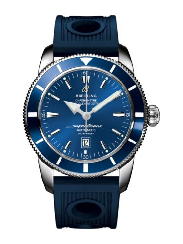 Breitling A1732016.C734.205S : Superocean Heritage 46 Stainless Steel / Blue / Blue /