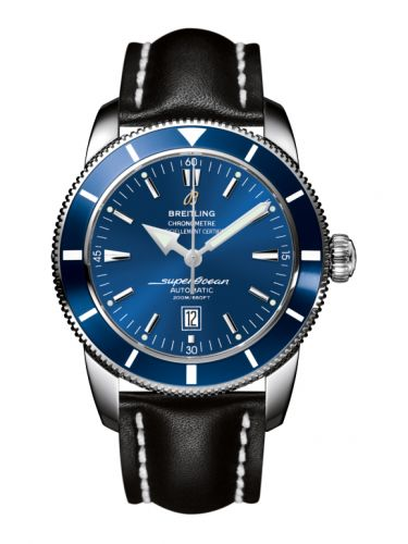 Breitling A1732016.C734.441X : Superocean Heritage 46 Stainless Steel / Blue / Blue / Calf