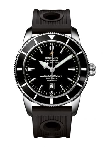 Breitling A1732024.B868.201S : Superocean Heritage 46 Stainless Steel / Black / Black / Rubber