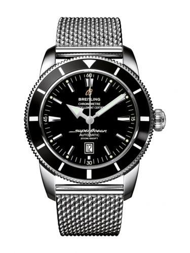 Breitling A1732024.B868.152A : Superocean Heritage 46 Stainless Steel / Black / Black /