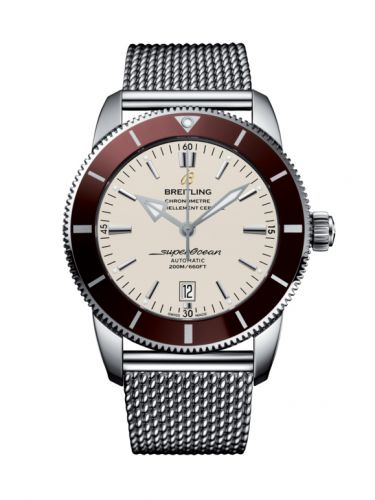 Breitling AB202033/G828/152A : Superocean Heritage II 46 Stainless Steel / Bronze / Silver / Milanese