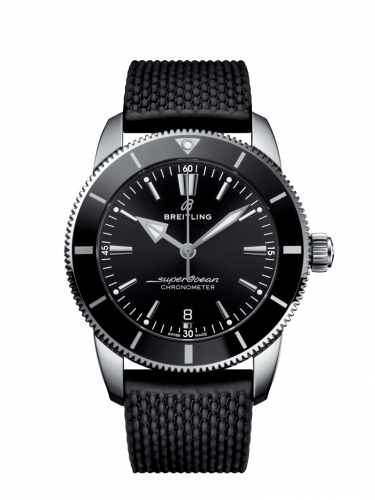 Breitling AB2030121B1S1 : Superocean Heritage II B20 Automatic 44 Stainless Steel / Black / Rubber / Folding