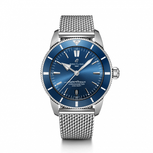 Breitling AB2030161C1A1 : Superocean Heritage II B20 Automatic 44 Stainless Steel / Blue / Bracelet