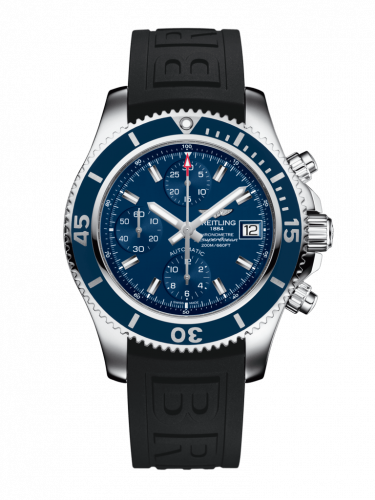 Breitling A13311D1/C971/150S/A18S.1 : Superocean Chronograph 42 Stainless Steel / Blue / Rubber / Pin