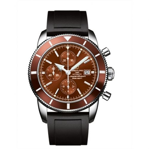 Breitling A1332033.Q553.135S : Superocean Heritage 46 Chronograph Stainless Steel / Bronze / Bronze / Rubber
