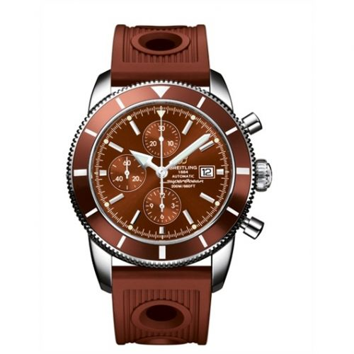 Breitling A1332033.Q553.206S : Superocean Heritage 46 Chronograph Stainless Steel / Bronze / Bronze / Rubber
